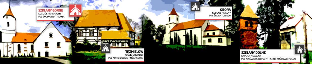 Parafia pw. Piotra i Pawła w Szklarach Górnych